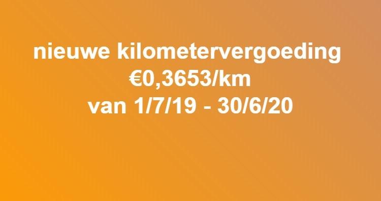 kilometervergoeding 2019 Algida Loopbaanbegeleiding