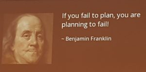 algida quotes: if you fail to plan, you are planning to fail