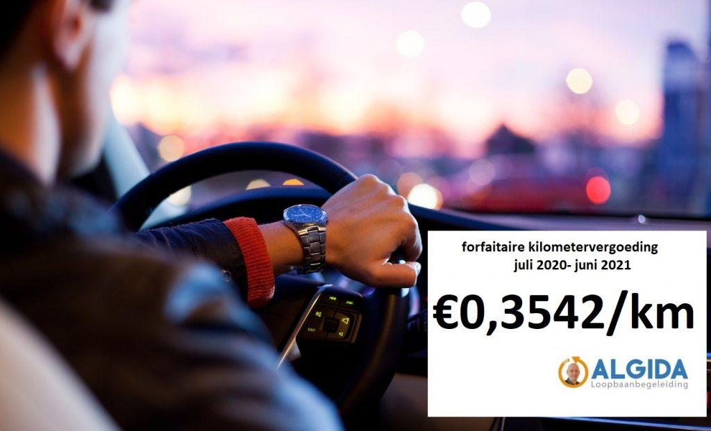 kilometervergoeding 2020-2021