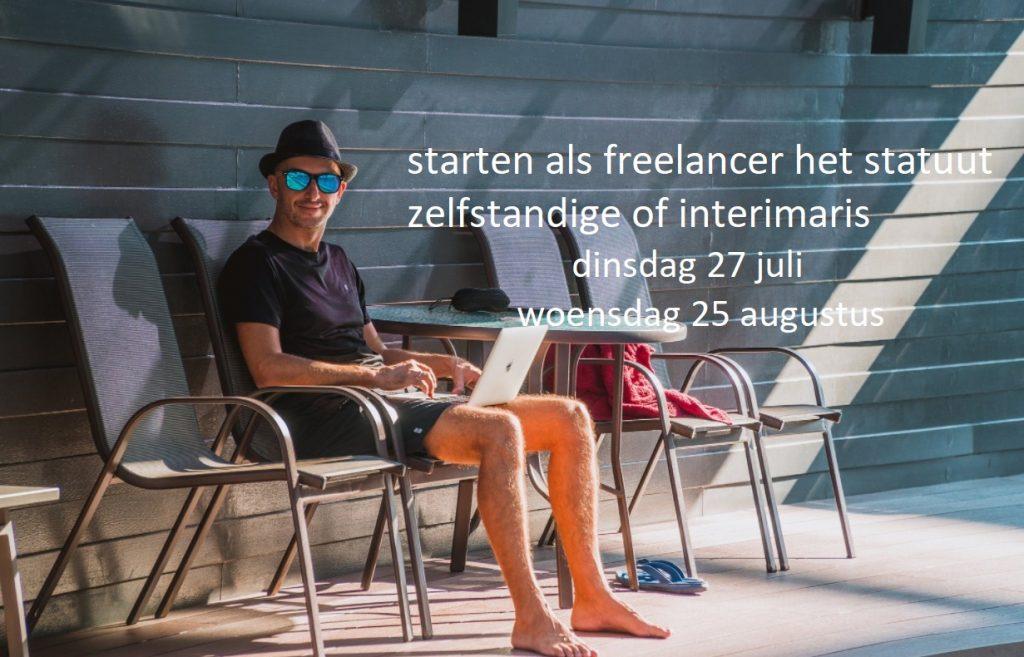 starten als freelancer het statuut