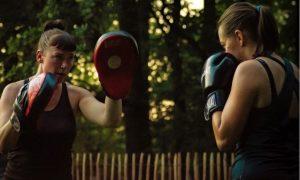 boksen tegen stress