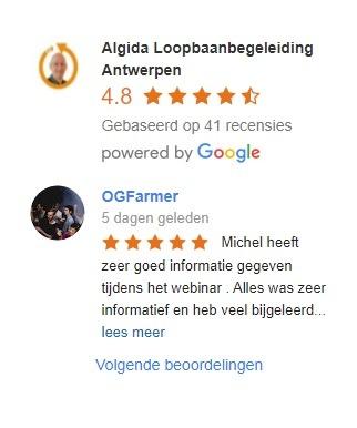 google review algida loopbaanbegeleiding