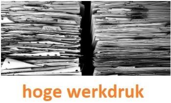 hoge werkdruk geeft stress